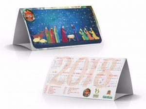 calendário natalino
